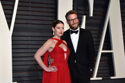 Actors Lauren Miller (L) and Seth Rogen attend the 2017 Vanity Fair Oscar Party hosted by Graydon Carter at Wallis Annenberg Center for the Performing Arts on February 26, 2017 in Beverly Hills, California.