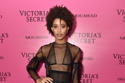 Model Samile Bermannelli attends the 2017 Victoria's Secret Fashion Show In Shanghai After Party at Mercedes-Benz Arena on November 20, 2017 in Shanghai, China.