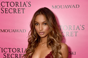 Jasmine Tookes attends the 2017 Victoria's Secret Fashion Show In Shanghai After Party at Mercedes-Benz Arena on November 20, 2017 in Shanghai, China.