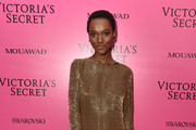 Model Herieth Paul attends the 2017 Victoria's Secret Fashion Show In Shanghai After Party at Mercedes-Benz Arena on November 20, 2017 in Shanghai, China.