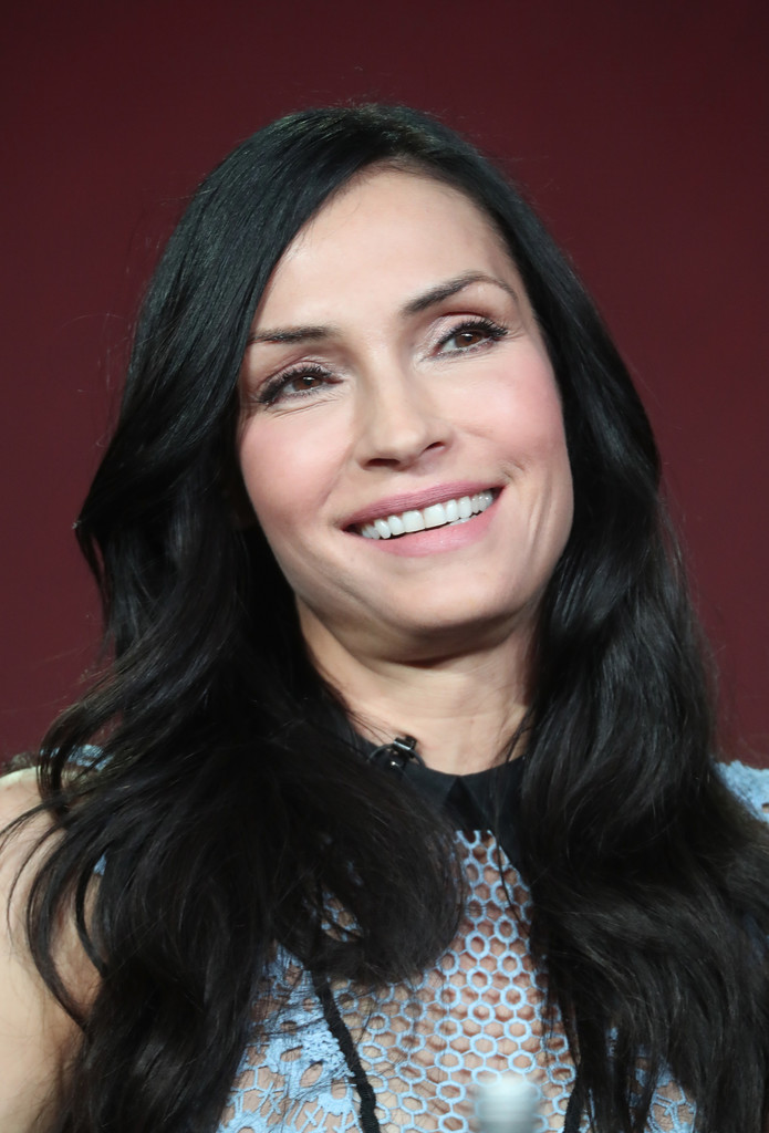 Famke Janssen in 2017 Winter TCA Tour - Day 14 - Zimbio