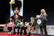 """(L-R) Ella Mai,  Kane Brown, Normani, Chelsea Briggs and Bebe Rexha speak onstage during The """"2018 American Music Awards"""" Nominations at YouTube Space LA on September 12, 2018 in Los Angeles, California."""