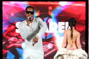 Safaree Samuels performs at BETHer Presents Fashion & Beauty during the 2018 BET Experience at Los Angeles Convention Center on June 23, 2018 in Los Angeles, California.