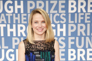 Former Yahoo! CEO Marissa Mayer attends the 2018 Breakthrough Prize at NASA Ames Research Center on December 3, 2017 in Mountain View, California.