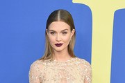 Josephine Skriver attends the 2018 CFDA Fashion Awards at Brooklyn Museum on June 4, 2018 in New York City.