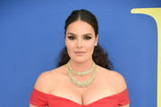 Candice Huffine attends the 2018 CFDA Fashion Awards at Brooklyn Museum on June 4, 2018 in New York City.