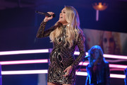 Carrie Underwood  onstage during the 2018 CMT Artists of The Year at Schermerhorn Symphony Center on October 17, 2018 in Nashville, Tennessee.
