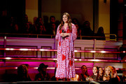 Hillary Scott of Lady Antebellum onstage during the 2018 CMT Artists of The Year at Schermerhorn Symphony Center on October 17, 2018 in Nashville, Tennessee.