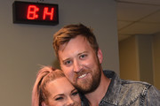 Cassie McConnell and Charles Kelley attend the 2018 CMT Music Awards - Backstage & Audience at Bridgestone Arena on June 6, 2018 in Nashville, Tennessee.