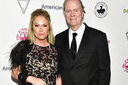 Kathy Hilton (L) and Rick Hilton attend the 2018 Carousel of Hope Ball at The Beverly Hilton Hotel on October 6, 2018 in Beverly Hills, California.