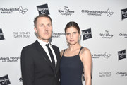 """Scott Campbell and Lake Bell attend the 2018 Children's Hospital Los Angeles """"From Paris With Love"""" Gala at LA Live on October 20, 2018 in Los Angeles, California."""