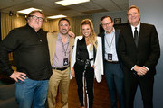 (L-R) Producers Lorenzo di Bonaventura and Jake Myers, singer Rachel Platten, guest and ParamountÕs Worldwide Music & Publishing President Randy Spendlove attend Paramount Pictures Presentation at 2018 CinemaCon at The Colosseum at Caesars Palace on April 25, 2018 in Las Vegas, Nevada.
