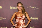 Kym Johnson arrives to the 2018 Entertainment Weekly Pre-Emmy Party at Sunset Tower Hotel on September 15, 2018 in West Hollywood, California.