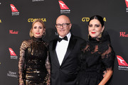 (L-R) Kate Ledger, Kim Ledger, and Ines Ledger attend the 2018 G'Day USA Black Tie Gala at InterContinental Los Angeles Downtown on January 27, 2018 in Los Angeles, California.
