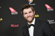 Liam McIntyre attends 2018 G'Day USA Los Angeles Black Tie Gala at InterContinental Los Angeles Downtown on January 27, 2018 in Los Angeles, California.