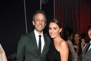 Seth Meyers (L) and Alexi Ashe attend the after party for the 2018 GOOD+ Foundation?s Evening of Comedy + Music Benefit, presented by Samsung Electronics America at Ziegfeld Ballroom on September 12, 2018 in New York City.