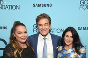 (L-R) Angie Martinez, Dr. Mehmet Oz, and Lisa Oz attend the 2018 GOOD+ Foundation?s Evening of Comedy + Music Benefit, presented by Samsung Electronics America at Carnegie Hall on September 12, 2018 in New York City.