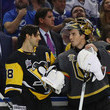 Kris Letang and Marc-Andre Fleury Photos
