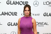 Ashley Graham attends 2018 Glamour Women Of The Year Summit:  Women Rise at Spring Studios on November 11, 2018 in New York City.