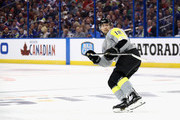 Josh Bailey #12 of the New York Islanders looks on in the first half during the 2018 Honda NHL All-Star Game between the Atlantic Division and the Metropolitan Divison at Amalie Arena on January 28, 2018 in Tampa, Florida.