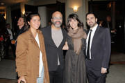 (L-R) Paula Vanoppen, Jeffrey Wright, Sareen Hairabedian and Armen Karaoghlanian attend the 2018 IDA Documentary Awards on December 8, 2018 in Los Angeles, California.