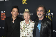 "Jakob Dylan,Michelle Phillips, Jackson Browne attend the 2018 LA Film Festival - Opening Night Premiere Of ""Echo In The Canyon"" at John Anson Ford Amphitheatre on September 20, 2018 in Hollywood, California."