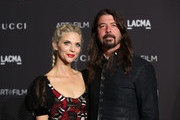 Jordyn Blum and Dave Grohl attend the 2018 LACMA Art + Film Gala at LACMA on November 03, 2018 in Los Angeles, California.