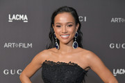 Actor-model Karrueche Tran attends 2018 LACMA Art + Film Gala honoring Catherine Opie and Guillermo del Toro presented by Gucci at LACMA on November 3, 2018 in Los Angeles, California.