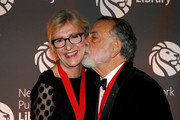 Elizabeth Strout and Francis Ford Coppola attend the New York Public Library 2018 Library Lions Gala at the New York Public Library at the Stephen A. Schwarzman Building on November 5, 2018 in New York City.