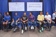 Serena Williams, Rafael Nadal, Nick Kyrgios, Venus Williams, Alexander Zverev and Mischa Zverev attend 2018 Lotte New York Palace Invitational on August 23, 2018 in New York City.