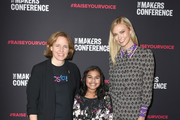 Chief Executive Officer, Shift7, Megan Smith, Gitanjali Rao and Karlie Kloss attend The 2018 MAKERS Conference at NeueHouse Hollywood on February 6, 2018 in Los Angeles, California.
