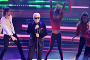 Heino performs on stage during the tv show '2018! Menschen, Bilder, Emotionen' on December 3, 2017 in Cologne, Germany.