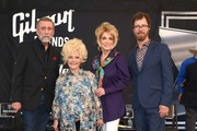 Ray Stevens, Brenda Lee, Jeannie Seely and Ben Folds attend the 2018 Music City Walk Induction Ceremony at Walk of Fame Park on August 21, 2018 in Nashville, Tennessee.