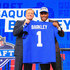 Roger Goodell Saquon Barkley Photos - Saquon Barkley of Penn State poses with NFL Commissioner Roger Goodell after being picked #2 overall by the New York Giants during the first round of the 2018 NFL Draft at AT&T Stadium on April 26, 2018 in Arlington, Texas. - 2018 NFL Draft
