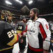 Marc-Andre Fleury and Alex Ovechkin