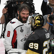 Alex Ovechkin and Marc-Andre Fleury Photos