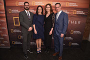 (L-R) Tim Pastore, Courteney Monroe, Carolyn Bernstein and Geoff Daniels attend National Geographic's FURTHER Front immersive experience where the network took over a SoHo townhouse to unveil their upfront 2018-2019 slate on April 18, 2018 in New York City.