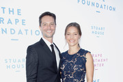 Jason Behr (L) and KaDee Strickland attend The Rape Foundation's Annual Brunch on October 7, 2018 in Beverly Hills, California.
