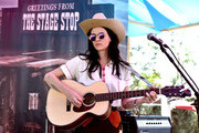 Nikki Lane performs onstage during 2018 Stagecoach California's Country Music Festival at the Empire Polo Field on April 28, 2018 in Indio, California.