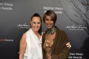 Donna Karan and Iman Photos Photo
