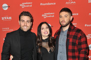(L-R) Actor Colt Prattes and creators/writers/actors Shoshannah Stern and Josh Feldman attend the Indie Episodic Program 2 during the 2018 Sundance Film Festival at Park Avenue Theater on January 23, 2018 in Park City, Utah.