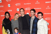 "Priyanka Chopra, Claire Danes, Jim Parsons, Daniel Pearle, Silas Howard, and Leo James Davis attend the A Kid Like Jake"" Premiere during the 2018 Sundance Film Festival at Eccles Center Theatre on January 23, 2018 in Park City, Utah."