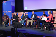 (L-R) Octavia Spencer, Megan Smith, Christine Vachon, Patrick Gaspard, Issa Rae and Sarah Ellison speak onstage at the Power Of Story Panel: Culture Shift during the 2018 Sundance Film Festival at Egyptian Theatre on January 19, 2018 in Park City, Utah.