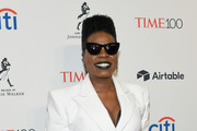 Comedian Leslie Jones attends the 2018 Time 100 Gala at Jazz at Lincoln Center on April 24, 2018 in New York City.