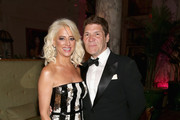 Dorinda Medley (L) and Greg Calejo attend the 2018 Tony Awards Gala at The Plaza Hotel on June 10, 2018 in New York City.