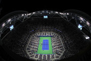 A general view during the ladies singles third round match between Venus Williams of The United States and Serena Williams of The United States on Day Five of the 2018 US Open at the USTA Billie Jean King National Tennis Center on August 31, 2018 in the Flushing neighborhood of the Queens borough of New York City.