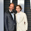 Luca Guadagnino and Timothee Chalamet Photos
