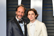 Luca Guadagnino and Timothee Chalamet Photos Photo