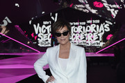 Kris Jenner attends attends the 2018 Victoria's Secret Fashion Show in New York at Pier 94 on November 8, 2018 in New York City.