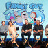 Mila Kunis Photos - (L-R) Actors Seth Green and Mila Kunis, creator/executive producer Seth MacFarlane, executve producer/showrunner Rich Appel, executive producer/showrunner Alec Sulkin of the television show Family Guy speak onstage during the FOX portion of the 2018 Winter Television Critics Association Press Tour at The Langham Huntington, Pasadena on January 4, 2018 in Pasadena, California. - Mila Kunis Photos - 372 of 6375